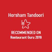 Horsham Tandoori Restaurant Guru Recommened 2019